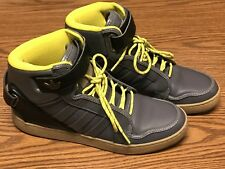 Adidas Q32588 Originals Mens Adi-Rise AR 3.0 Grey Yellow Athletic Shoes Sz 9.5