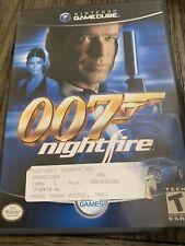 007: NightFire (Nintendo GameCube, 2002) CIB
