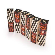 Uncle goose Maori Alphabet Wood Blocks