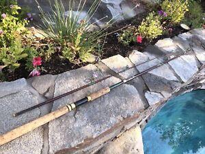 """KENCOR Magnaglas """"NOODLE90"""" 4-12lb USA Made Spinning Rod"""