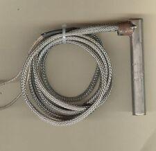 "FAST HEAT Cartridge Heater 1/2"" Dia X 3 1/2"" Long 250W 240V 60"" Stainless Braid"