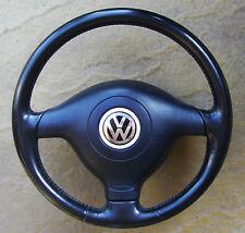 VW Golf MK4-Volante De Cuero Airbag & - envío sólo Reino Unido