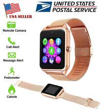 Bluetooth Smartwatch Unlocked Watch Phone for Samsung Htc Huawei Motorola Xiaomi