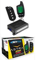 Car Alarm Security System, Keyless Entry 2-Way LCD Remote Start Scytek A4.2W