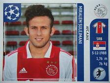 Panini 257 Miralem Sulejmani Ajax Amsterdam UEFA CL 2011/12