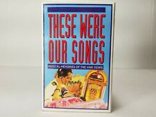 These Were Our Songs- Musical Memories Of The War Years - 3 Cassettes (G)