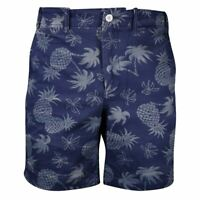 Polo Ralph Lauren Men's Navy Pineapple Straight Fit Chino Shorts