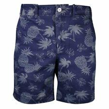 Polo Ralph Lauren Men's Navy Pineapple Straight Fit Chino Shorts