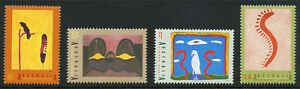 Australian 1993 Aboriginal Australia, set of 4, mint never hinged