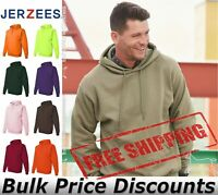 JERZEES Mens Blank NuBlend Hooded Sweatshirt 996MR up to 5XL