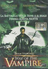 Dvd **WAY OF THE VAMPIRE** di  Bram Stoker's nuovo sigillato 2001