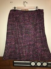 Talbots Womens Casual Career Skirt Tweed 14W