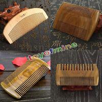 Spazzola Pettine Sandalo Legno Massaggio Anti-statico Pettine Hair Comb Capelli