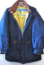 Men's McGregor Blue/Yellow Winter Coat Large