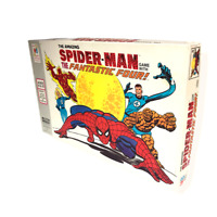 The Amazing Spider-Man Game With the Fantastic Four! Board Game by MB 1977 Fun