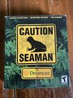 Seaman Dreamcast, Sealed Box With Mic.