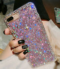 Bling Diamond Crystal Cute Glitter Shiny Soft Gel TPU Case Cover For Cell Phones