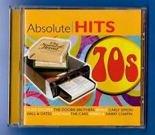 VARIOUS ARTISTS ABSOLUTE 70's HITS CD ALBUM(2006) CRIMCD439 Demon Music (EU)