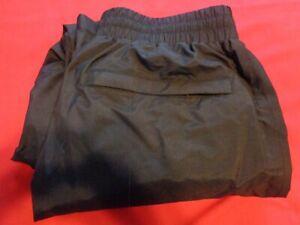 Cabela's rain drencher rain pants black women's sz M GORE TEX ZIPPER POCKET