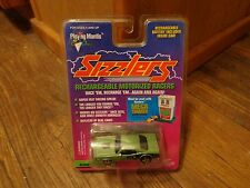 1996 PLAYING MANTIS SIZZLERS--OLIVE GREEN 1971 PLYMOUTH HEMI CUDA CAR (NEW)