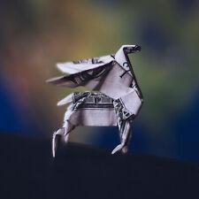 Origami PEGASUS Model Winged Horse Figurine Money Mini Animal Real 1 Dollar Bill