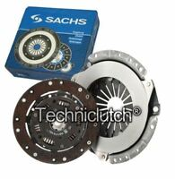 SACHS 2 PART CLUTCH KIT FOR SAAB 9000 HATCHBACK 2.3 16V CS