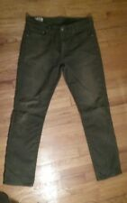levis 511 34x32 olive brown perfectly worn in corduroy pants