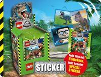 Blue Ocean Lego® Jurassic World Sticker Serie alle Sticker zum aussuchen 1-160