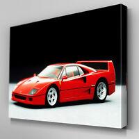 Cars366 Ferrari Series F40 Studio Canvas Art Ready to Hang Picture Print