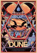 Jodorowsky's Dune Classic Movie Art Silk Poster 24x36inch