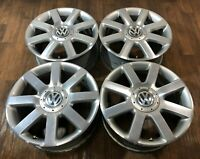 4x VW Golf 5 V 6 VI Alufelgen 7J x 17 Zoll ET54 Indianapolis 1K0601025M F1728