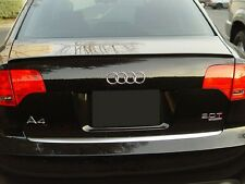 Audi A4 S4 RS4 8EC B7 2005-2008 SALOON BOOT LIP SPOILER UK SELLER