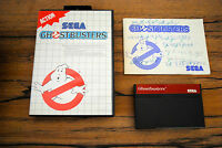Jeu GHOSTBUSTERS pour Sega MASTER SYSTEM Complet boite + notice