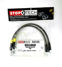STOPTECH SS STAINLESS STEEL FRONT BRAKE LINES FOR 05-10 JEEP GRAND CHEROKEE