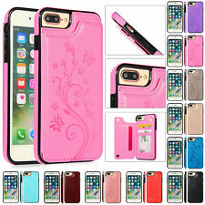Case For iPhone 11 Pro XS Max XR X 8 7 6Plus Magnetic Leather Wallet Phone Cover