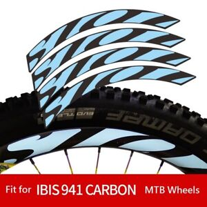 Mountain Bike Wheel Rim Replacement Sticker for ibis 941 Bicycle MTB Cycel Decal