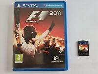 F1 2011 Playstation Vita PSVita UK Game VGC