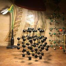 Vintage DIAMOND molecular model crystal structure educational atoms chemistry