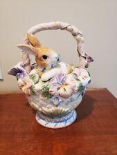 New ListingFitz and Floyd Halcyon Bunny teapot - Discontinued