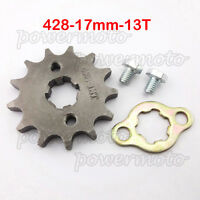 428 13Tooth 17mm Front Engine Sprocket For 50 70 90 110 125cc ATV Dirt Pit Bike