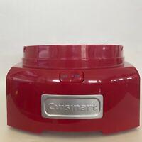 Cuisinart ICE-21 Frozen Yogurt Sorbet and Ice Cream Maker Red Motor Base Only