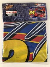 Jeff Gordon #24 DuPont Racing NASCAR 2.5' x 3.5' Flag by Winners Circle