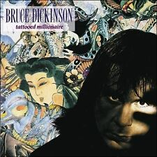 Tattooed Millionaire [Remaster] by Bruce Dickinson (Iron Maiden) (CD, Columbia (USA))