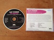 CAT POWER The Greatest 12tk Advance/Promo/Adv cd