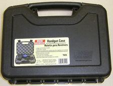 MTM Case Gard™ Pistol Case Handgun Revolver Dual Lock 805  40 Black MADE IN USA