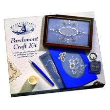 House Of Crafts Parchment Making Craft Kit Pen & Paper Embossed Design HC230