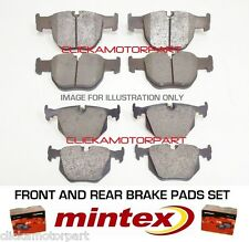 FOR NISSAN X-TRAIL  2.0 dCi 2007-2011 FRONT AND REAR MINTEX BRAKE DISC PADS SET