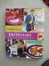 2003 Coffee Table Book America Entertains FIRST EDITION