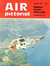 Air Pictorial 1975 Aug Fairchild A-10,Martinair,Malaya