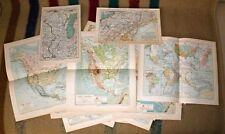 Sammlung, Konvolut - 19 alte Landkarten von Nordamerika - 1890-1905
